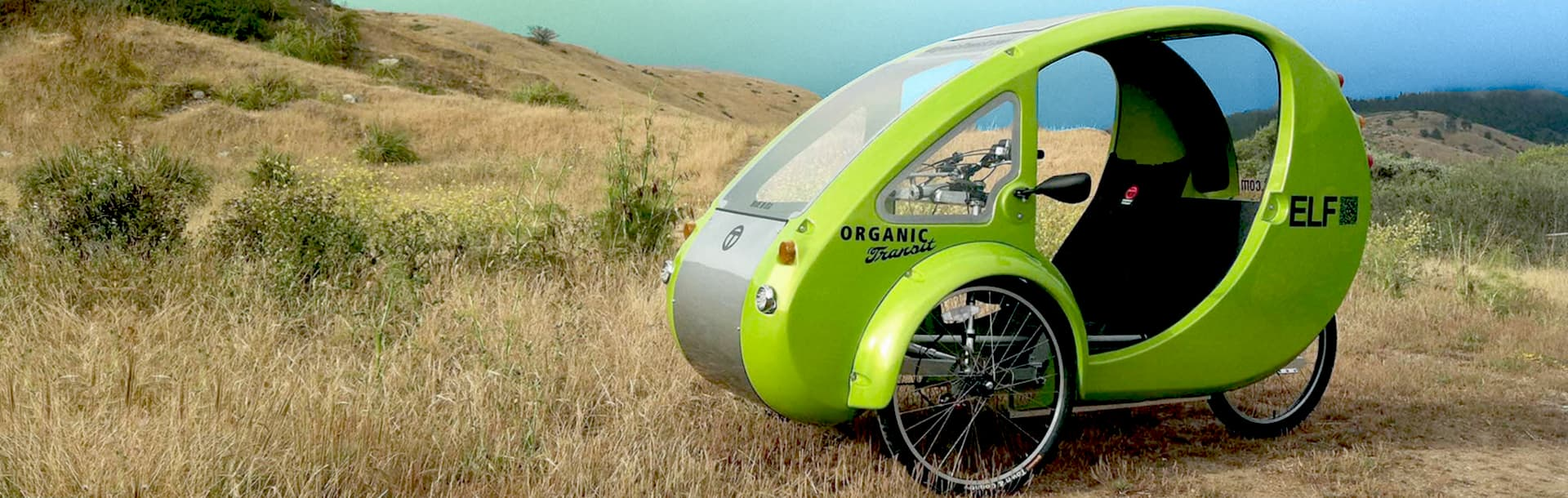Picture of the Organic Transit ELF vehicle