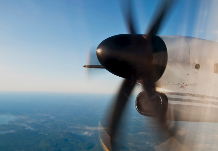Propeller of a plane